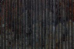 Cast iron grill black steel texture Stock Photos