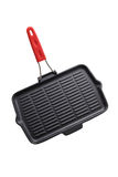 Cast Iron Grill Pan Stock Photo