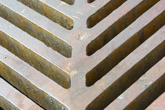 Cast-iron gully Stock Image