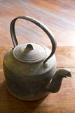 Cast iron kettle Stock Photography