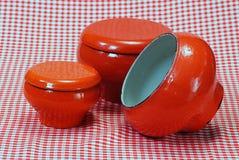 Cast-iron kettle / pot Royalty Free Stock Photos