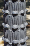 Cast iron Lamp Post detail Royalty Free Stock Images