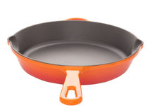 Cast iron pan Royalty Free Stock Photo