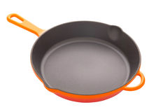 Cast iron pan Royalty Free Stock Photos
