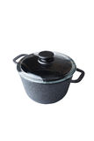 Cast iron pan Stock Photo