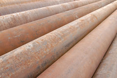 Cast Iron Pipes Stock Photography