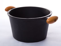 Cast-iron pot Stock Photos