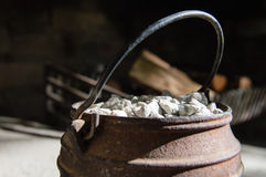 Cast Iron Pot Royalty Free Stock Photos