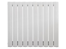 Cast iron radiator Stock Image