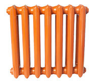 Cast iron radiator Royalty Free Stock Photo