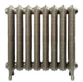 A cast iron radiator. For home Stock Photo