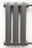 Cast iron radiator Stock Image