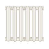 Cast-iron radiator for heating systems Stock Images