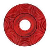 Cast iron red trivet Stock Photo
