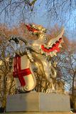 Dragon boundary mark statue in London Royalty Free Stock Photography