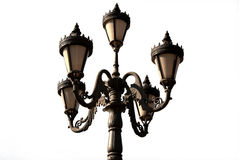 Cast iron street lamp Royalty Free Stock Photo