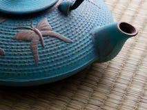 Cast iron tea pot Royalty Free Stock Photo