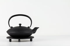 Cast iron teapot Royalty Free Stock Photos