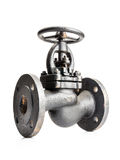 Cast iron valve Royalty Free Stock Photography