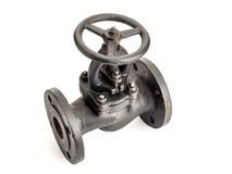 Cast iron valve Royalty Free Stock Photos