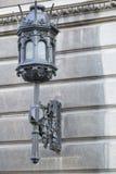 cast-iron-wall-lamp Stock Photo