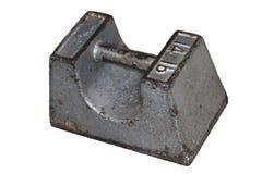 Cast iron weight Stock Photo