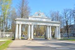 Cast or Nikolaev gates. Royalty Free Stock Images