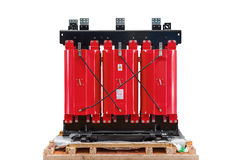 Cast resin transformer Royalty Free Stock Photos