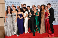 Cast of Ugly Betty. At the 64th Annual Golden Globe Awards at the Beverly Hilton Hotel. January 15, 2007 Beverly Hills, CA Picture: Paul Smith / Featureflash Royalty Free Stock Photos