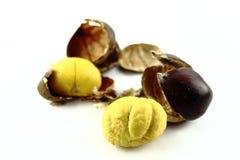 Castañas dulces Imagen de archivo libre de regalías
