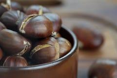 Castañas dulces Fotografía de archivo libre de regalías