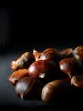 Castañas asadas dulces Imagen de archivo libre de regalías