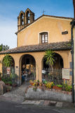 Castagneto Carducci, леггорн, Италия - церковь del Madonna стоковые фотографии rf