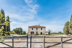 Castagneto Carducci en Toscana, Italia Fotos de archivo