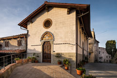 Castagneto Carducci, Leghorn, Italy - Church of the Holy Cross Stock Image