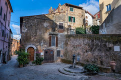 Castagneto Carducci, Leghorn, Italy - Etruscan Coast. Castagneto Carducci is one of the most popular towns on the Etruscan Coast, Leghorn, Italy, typical Royalty Free Stock Photos
