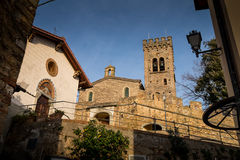Castagneto Carducci, Leghorn, Italy - the Gherardesca Castle Royalty Free Stock Photo