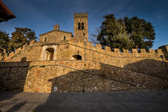 Castagneto Carducci, Leghorn, Italy - the Gherardesca Castle Royalty Free Stock Photography