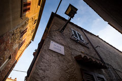 Castagneto Carducci, Leghorn, Italy - Scala Santa, typical medie Royalty Free Stock Photography