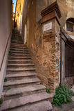 Castagneto Carducci, Leghorn, Italy - Scala Santa, typical medie Royalty Free Stock Images
