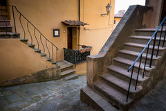 Castagneto Carducci, Leghorn, Italy - typical medieval streets Royalty Free Stock Photo