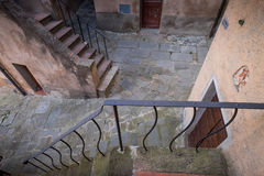 Castagneto Carducci, Leghorn, Italy - typical medieval streets Royalty Free Stock Photos