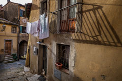 Castagneto Carducci, Leghorn, Włochy - etrusku wybrzeże Zdjęcie Stock