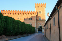 Castagneto Carducci, Tuscany - Bolgheri Stock Photo
