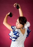 Castanet lady Royalty Free Stock Image