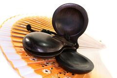 Castanets Stock Photography