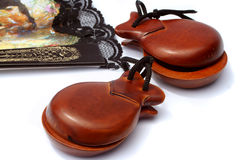 Castanets Fotos de Stock Royalty Free