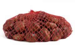Castanhas no saco Imagem de Stock Royalty Free