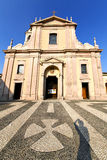 The castano primo  old   church Royalty Free Stock Images