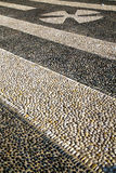 In   castano primo  street  of a curch and marble. In the castano primo  street lombardy italy  varese abstract   pavement of a curch and marble Royalty Free Stock Images